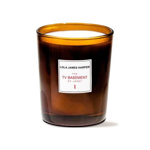 The TV Basement of Jonet candle 190 g