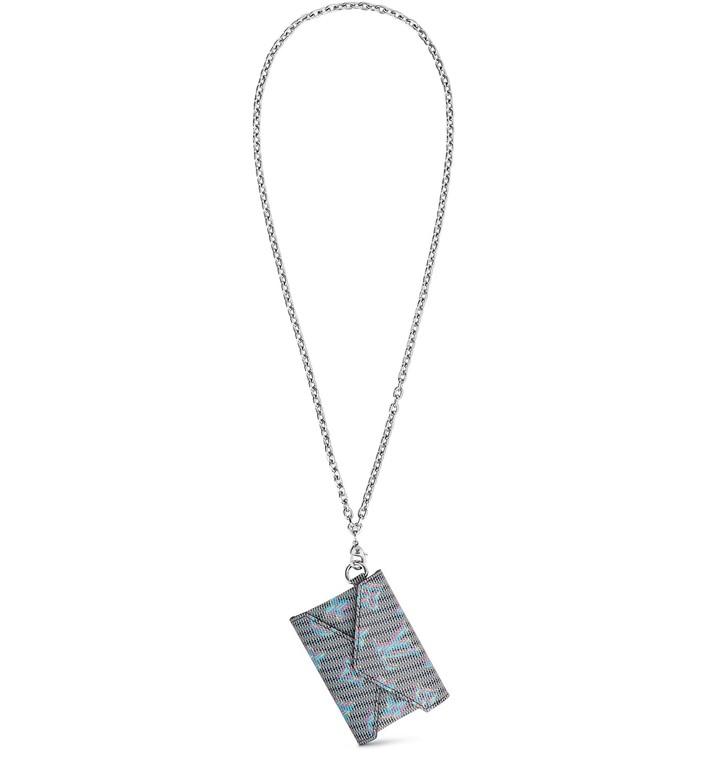 루이 비통 키리가미 목걸이 지갑 LOUIS VUITTON Kirigami necklace,blue