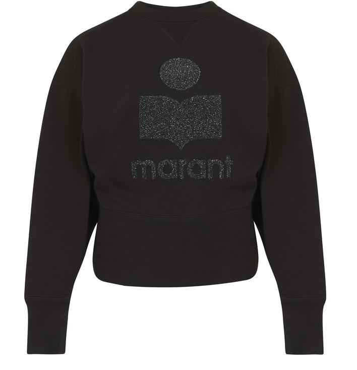 이자벨 마랑 에뚜왈 텔로야 티셔츠 Isabel Marant Etoile Teloya top,silver/black