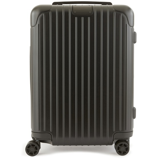 Rimowa Essential Check-in M Spinner Luggage In Matte Black