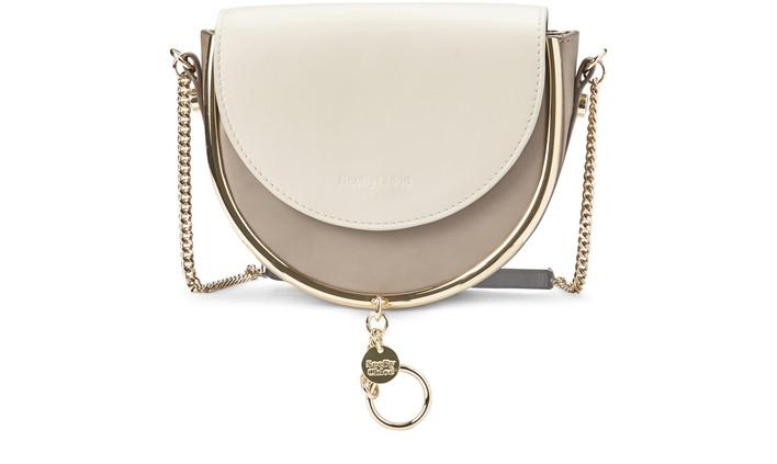 씨 바이 끌로에 See by Chloe Mara Evening bag,motty grey