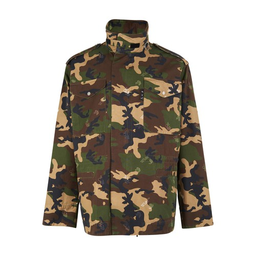 Off-White OW CAMO LOGO JACKET