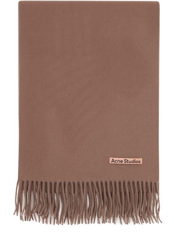 아크네 스튜디오 캐나다 뉴 머플러, 오버사이즈 (200X70) - 카라멜 브라운 (수지 착용) Acne Studios Canada scarf