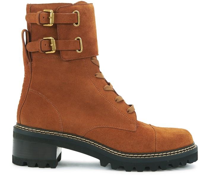 씨 바이 끌로에 See by Chloe Mallory boots,rust/copper