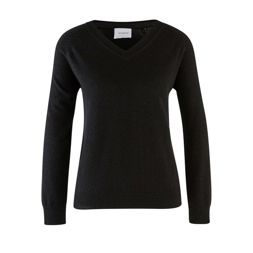 Pull col V en chachemire Catherine Night