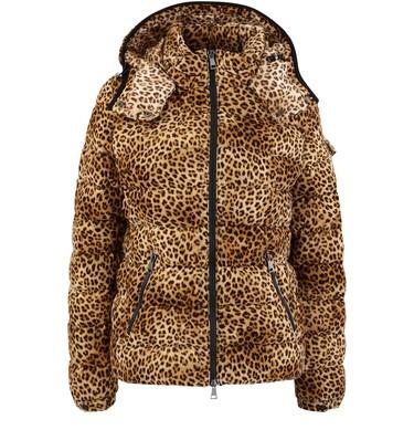 moncler jacke damen leopard