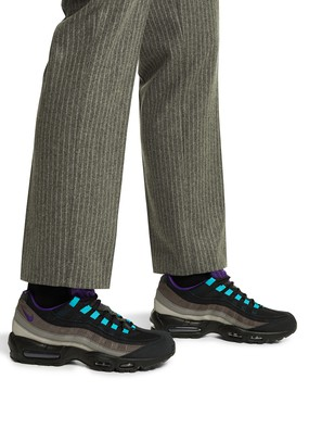Nike Air Max 95 LV8 black court purple teal nebula