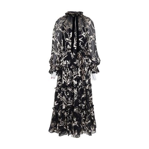 ZIMMERMANN LADYBEETLE SWING LONG DRESS