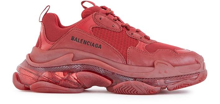 발렌시아가 트리플S 클리어 솔 스니커즈 Balenciaga Triple S Clear Sole trainers,6016
