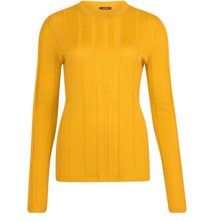 조셉 JOSEPH Merino wool sweater,saffron