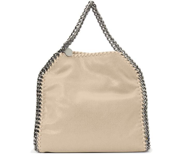 스텔라 맥카트니 토트백 미니 Stella McCartney Falabella mini tote bag,9300 - butter_cream
