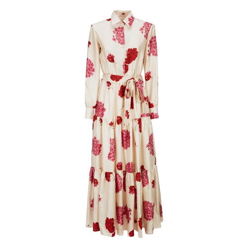 La Doublej Bellini Dress In Ortensia