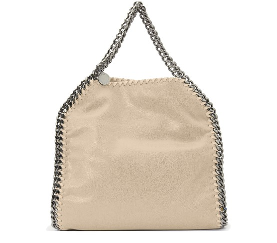 Stella Mccartney Falabella Mini Tote In Butter