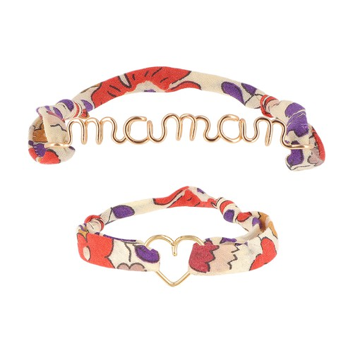 Liberty Bracelets Maman Heart