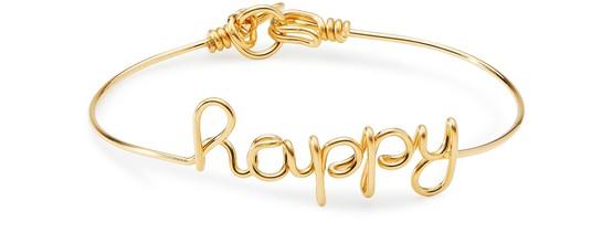 Atelier Paulin Happy Bracelet In Gold