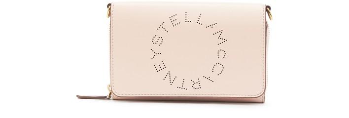 스텔라 맥카트니 로고 크로스바디백 Stella McCartney Stella Logo cross body bag,6802 blush