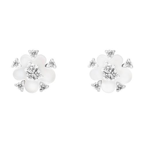 Djula Cherry Blossom Single In White