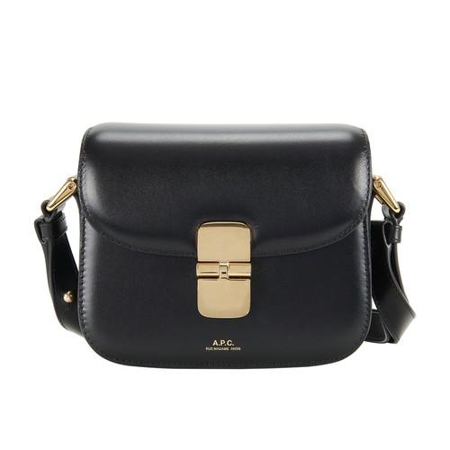 A.p.c. Mini Grace Bag In Black