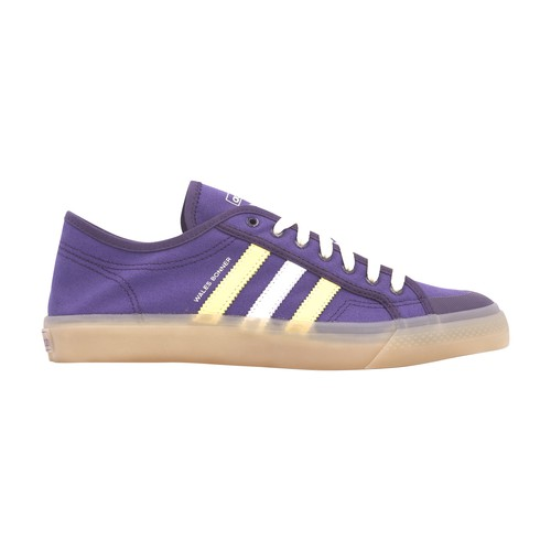 Adidas Originals By Wales Bonner Wb Nizza Sneakers In Unity Purple Glaze Cream White