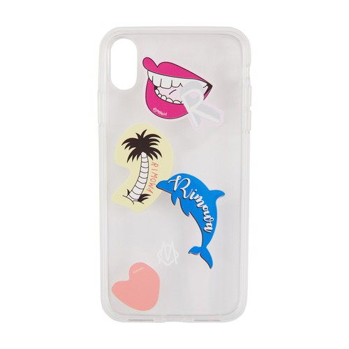 Stickers iPhone XR transparent phone case