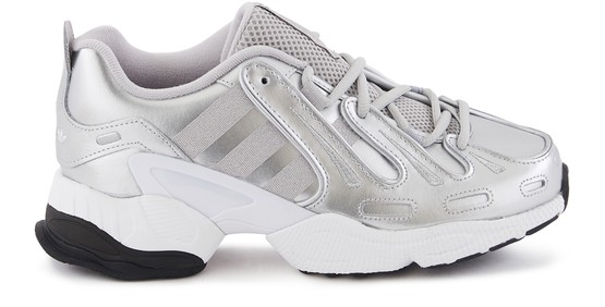 Adidas Originals Eqt Gazelle Sneakers In Argent Metallique | ModeSens