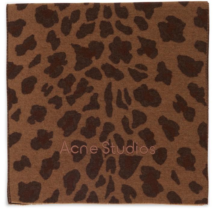 아크네 스튜디오 머플러 Acne Studios Varda scarf,camel brown
