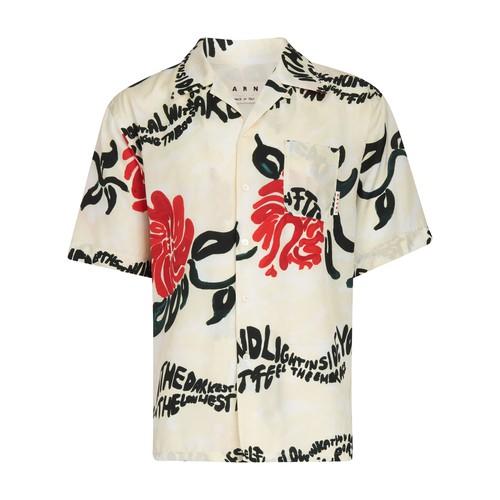 Marni Shirts SHORT-SLEEVED PRINTED SHIRT