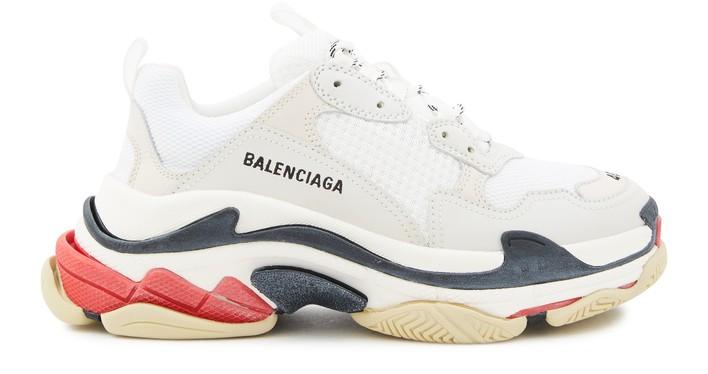 발렌시아가 트리플S 스니커즈 - 화이트 Balenciaga Triple S trainers