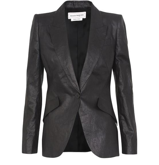 Alexander Mcqueen Linens Linen jacket