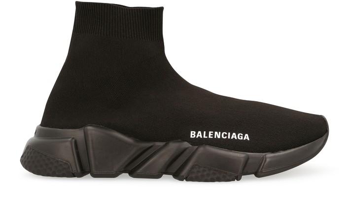 발렌시아가 스피드러너 여성용 - 올블랙 Balenciaga Speed lt sneaker,bk/wh/bk/bk/bk/bk