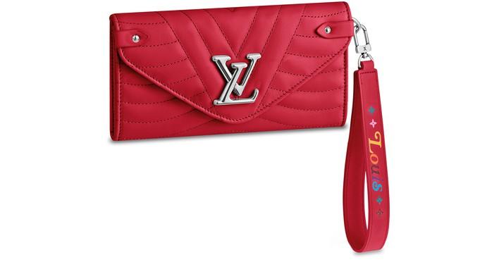 루이비통 뉴 웨이브 장지갑 Louis Vuitton New Wave Long Wallet,red