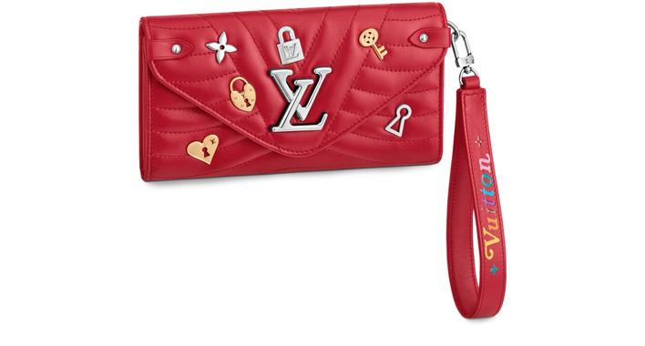 루이비통 뉴 웨이브 장지갑 Portefeuille long Louis Vuitton New Wave,multicolor