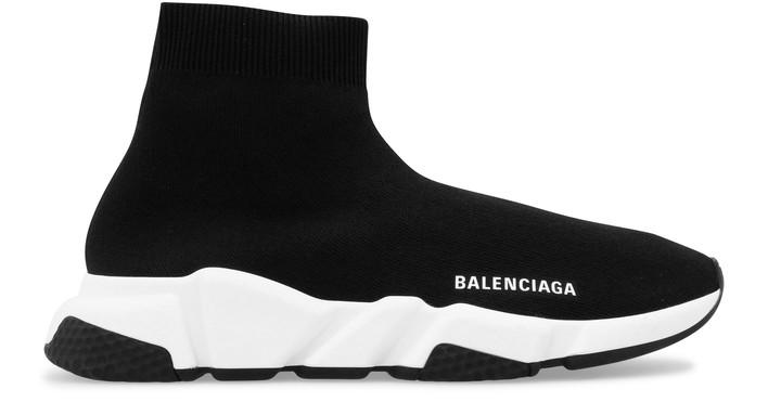 삭제예정 발렌시아가 Balenciaga Speed sneaker,black/white/black