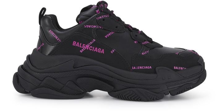 발렌시아가 트리플S 스니커즈 - 블랙 핑크 Balenciaga Triple S sneaker