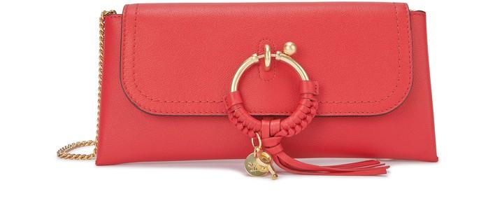 씨 바이 끌로에 See by Chloe Joan evening bag,red flame