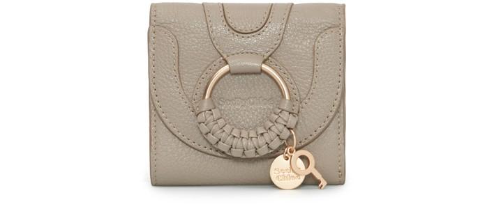 씨 바이 끌로에 See by Chloe Hana square compact wallet,motty grey