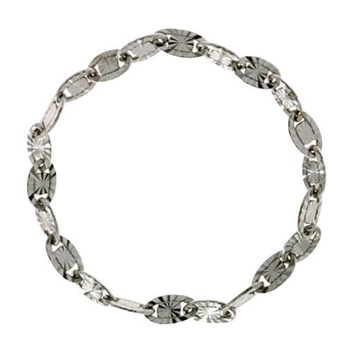 Delizioso oval chain ring