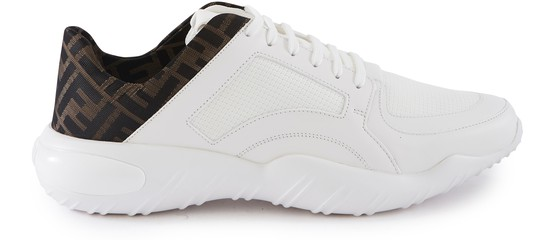 FENDI Sneakers LOW -RISE SNEAKERS IN FF TECHNICAL FABRIC