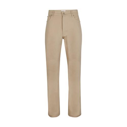 Ami Alexandre Mattiussi Straight Fit Jeans In Off White
