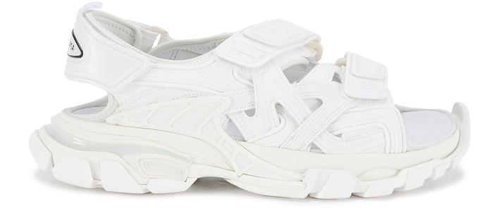 발렌시아가 트랙 샌들 - 화이트 Balenciaga Track sandals