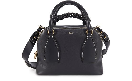 Chloé Daria Medium Bag In Black
