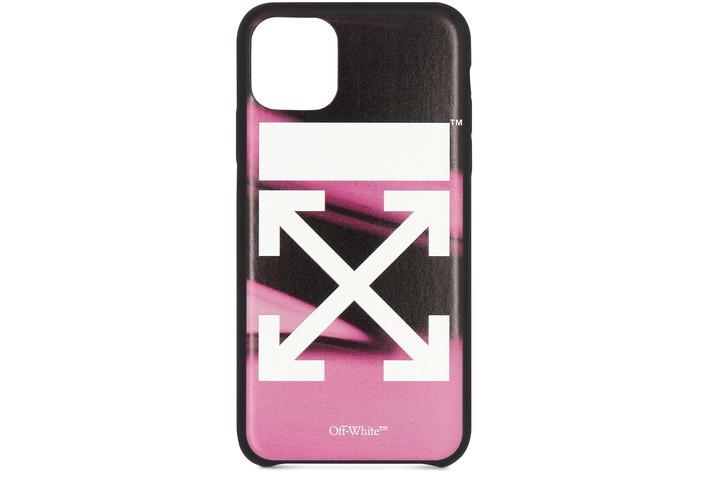 오프화이트 아이폰11프로 맥스 케이스 Off-White Arrow iPhone 11Pro Max case - OFF,fuchsia white