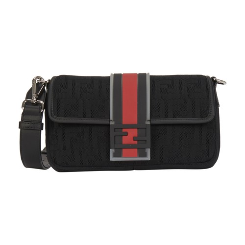 Baguette Cross-Body Bag In Neoprene