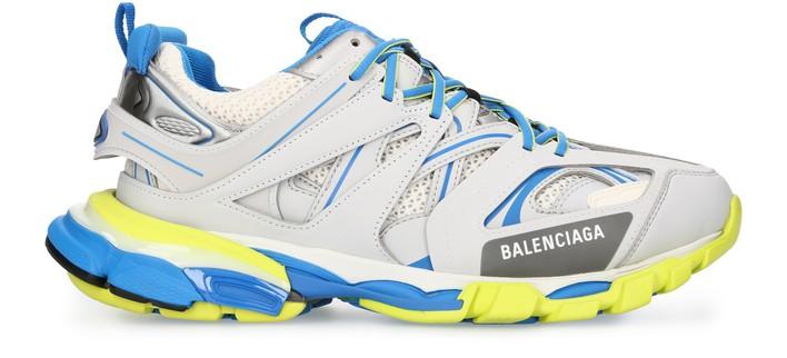 발렌시아가 트랙 스니커즈 - 그레이/블루/옐로우 Balenciaga Track sneakers