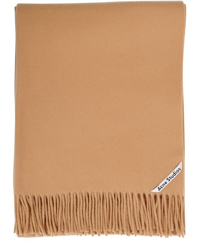 아크네 스튜디오 Acne Studios Canada scarf,camel brown