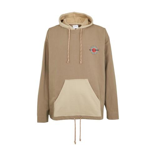 Woven hoodie