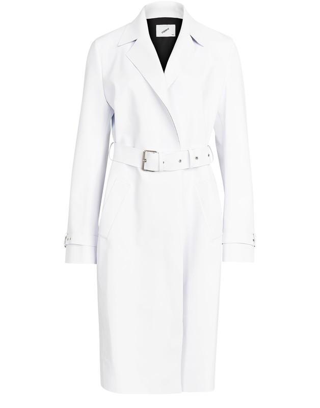 21SS 코페르니 코트 COPERNI Trompe-Loeil coat,optic white
