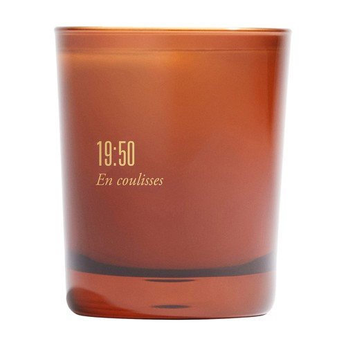 Scented candle 19:50