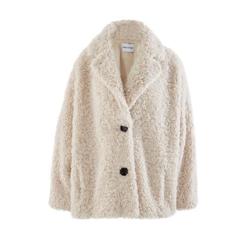 메릴린 페이크 퍼 재킷