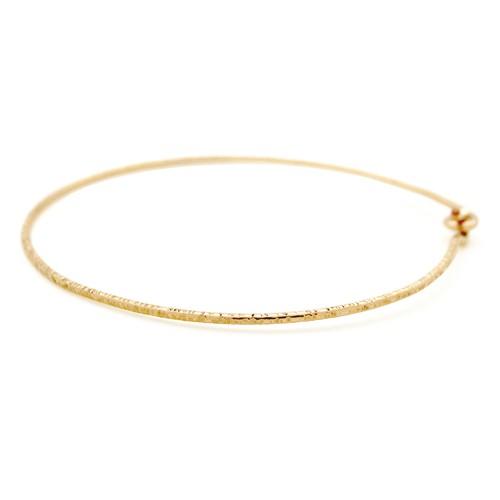 Nude Hammered Bracelet